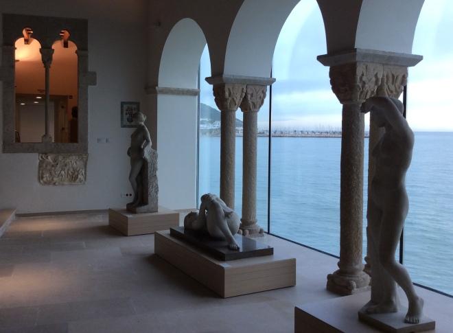 La vista espectacular des del Mirador del Museu de Maricel (2015). Fot. Joan Duran.