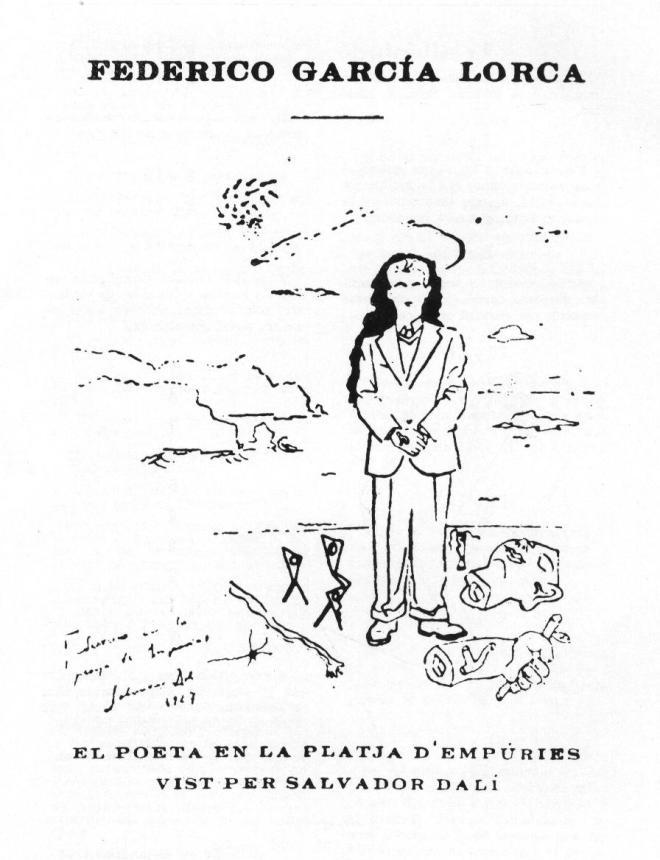 1927. FGL a la platja de Cadaqués. AA