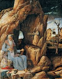 Andrea Mantegna, Sant Jeroni al desert.