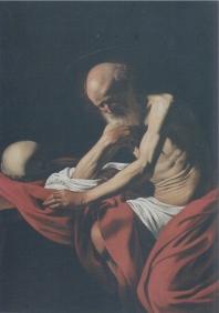 Caravaggio Sant Jeroni penitent, c 1605 MM