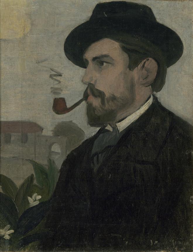 Torres Garcia, Autoretrat, 1902