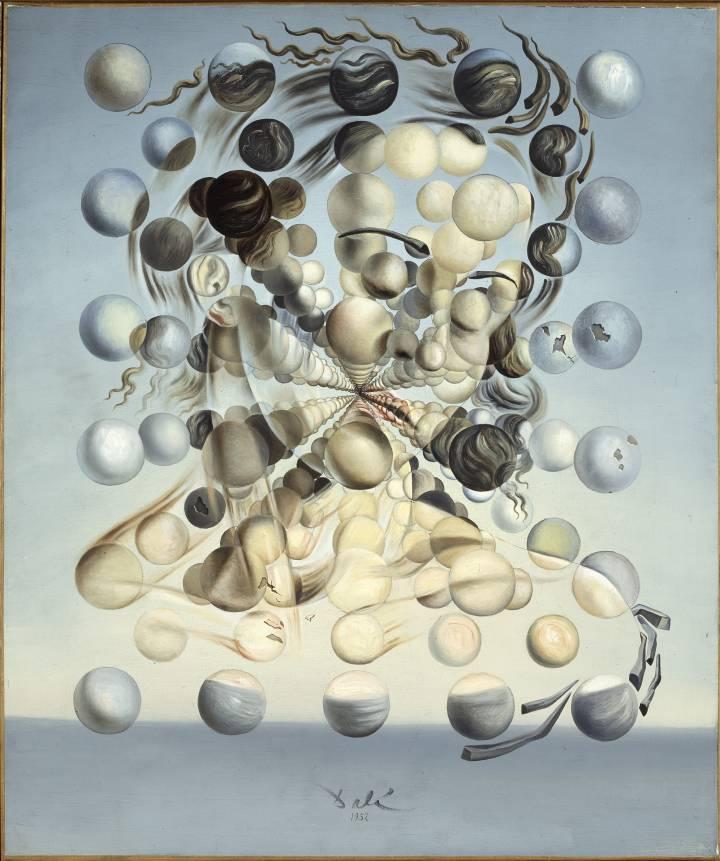 Salvador Dalí, Galatea de les esferes, 1952