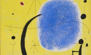 """Joan Miró, """"L'or de l'atzur"""" (1967, Fundació Joan Miró, Barcelona"""
