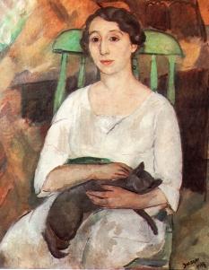 Joaquim Sunyer, Elvira i el gat 1918)