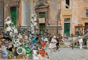 El carnaval de Roma, segons Marià Fortuny (1873)