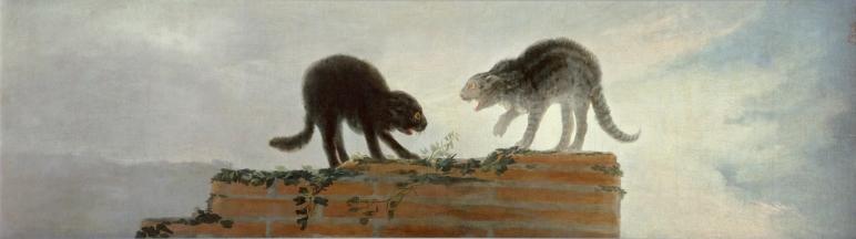 Els gats d'en Goya