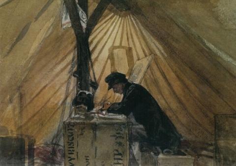 """Marià Fortuny, """"La nostra tenda de campanya"""""""