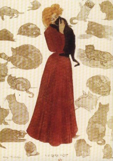 A la gloire du chat. Henry Detouche. XIX. BNF (1)