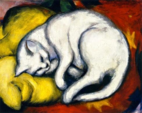 El gat de Franz Marc