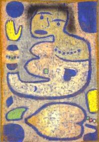 Paul Klee. Liebeslied bei Neumond