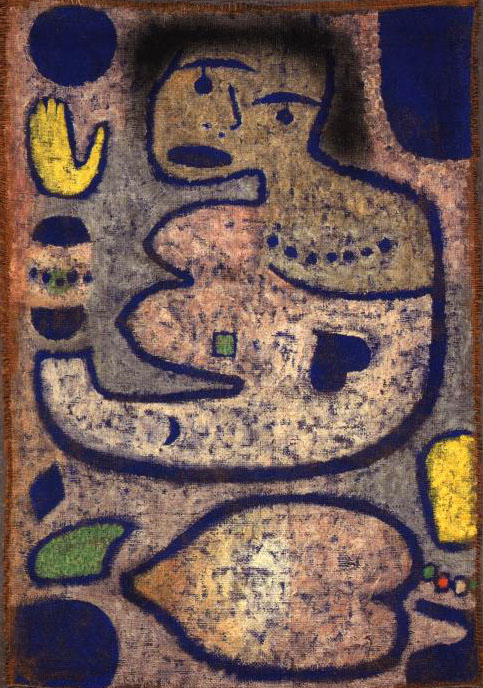 Paul Klee. Liebeslied bei Neumond
