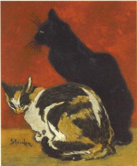 Els gats de l'Steinlen