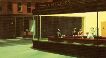 Hopper, Nighthawks, 1942, IAC