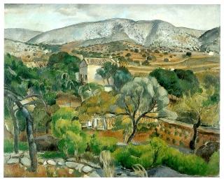 Joaquim Sunyer, Paisatge de Sitges