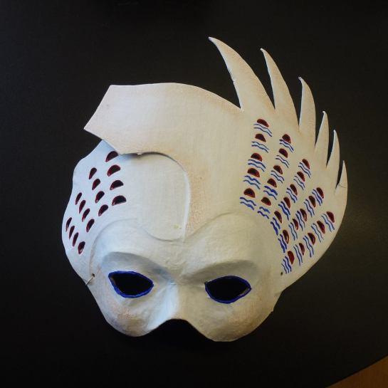Màscara de Maricel, feta per Montse Curtiada